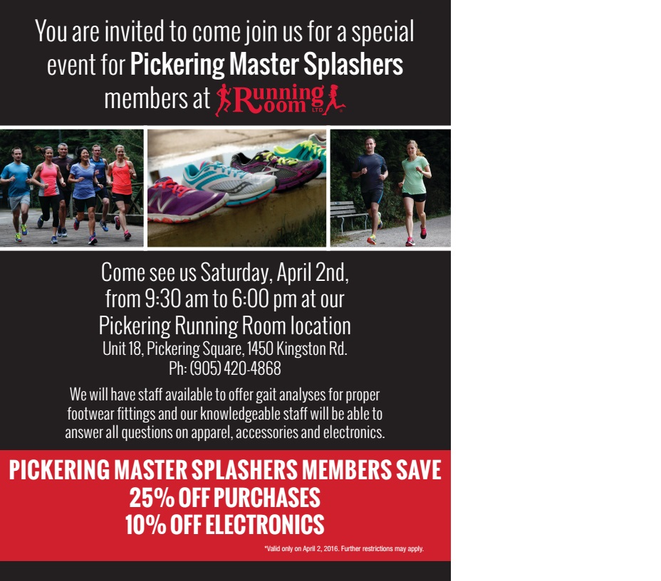 Running Room Flyer