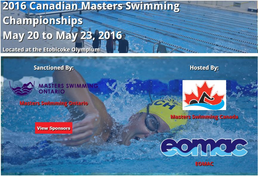 2016 Canadian Master Swimming Championships